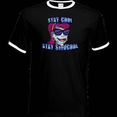 Motiv: T-Shirt Ringer - SandcoolTV - Stay Cool