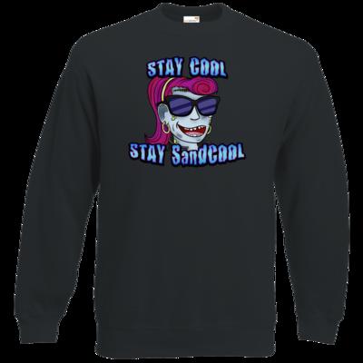 Motiv: Sweatshirt Classic - SandcoolTV - Stay Cool