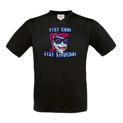 Motiv: T-Shirt V-Neck FAIR WEAR - SandcoolTV - Stay Cool