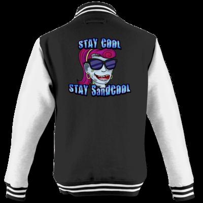 Motiv: College Jacke - SandcoolTV - Stay Cool