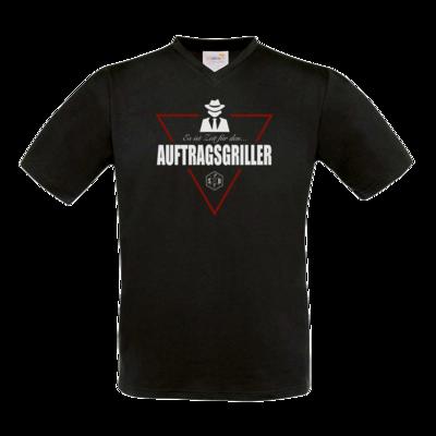 Motiv: T-Shirt V-Neck FAIR WEAR - SizzleBrothers - Grillen - Auftragsgriller