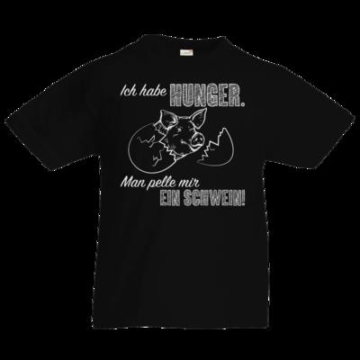 Motiv: Kids T-Shirt Premium FAIR WEAR - Sizzle Brothers - Grillen - Schwein pellen