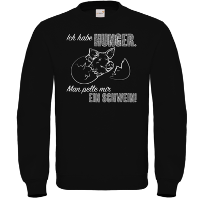 Motiv: Sweatshirt FAIR WEAR - Sizzle Brothers - Grillen - Schwein pellen