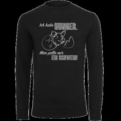 Motiv: Light Crew Sweatshirt - Sizzle Brothers - Grillen - Schwein pellen