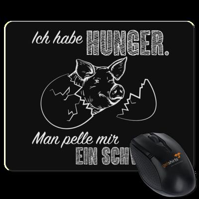 Motiv: Mousepad Textil - Sizzle Brothers - Grillen - Schwein pellen
