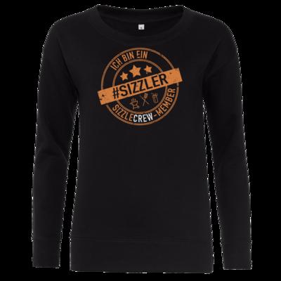 Motiv: Girlie Crew Sweatshirt - sizzler_3_dunkel