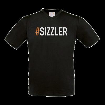 Motiv: T-Shirt V-Neck FAIR WEAR - SizzleBrothers - Grillen - Sizzler