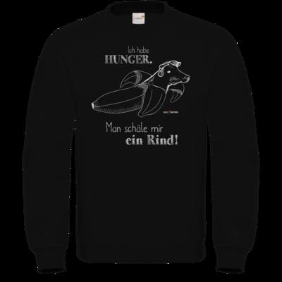 Motiv: Sweatshirt FAIR WEAR - SizzleBrothers - Grillen - Hunger Rind schälen