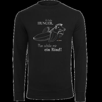 Motiv: Light Crew Sweatshirt - SizzleBrothers - Grillen - Hunger Rind schälen
