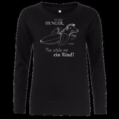 Motiv: Girlie Crew Sweatshirt - SizzleBrothers - Grillen - Hunger Rind schälen
