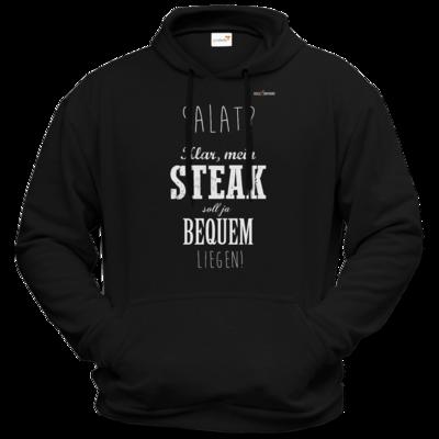 Motiv: Hoodie Premium FAIR WEAR - SizzleBrothers - Grillen - Salat Steak bequem