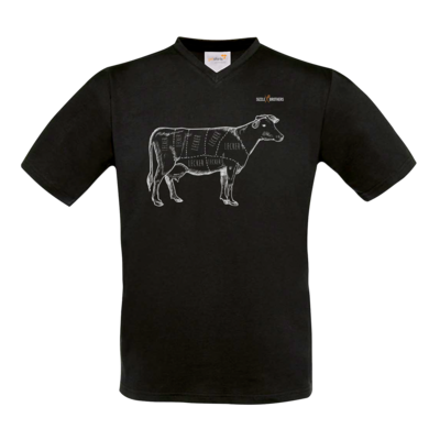 Motiv: T-Shirt V-Neck FAIR WEAR - SizzleBrothers - Grillen - Meatmap