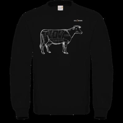 Motiv: Sweatshirt FAIR WEAR - SizzleBrothers - Grillen - Meatmap