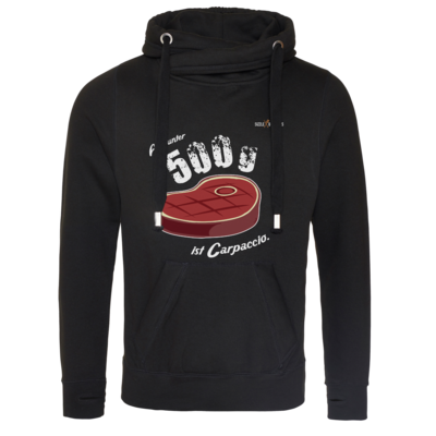 Motiv: Cross Neck Hoodie - SizzleBrothers - Grillen - Carpaccio