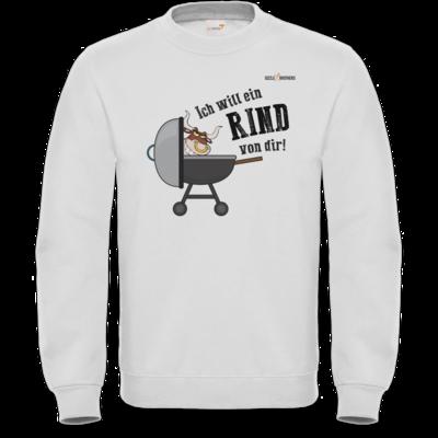 Motiv: Sweatshirt FAIR WEAR - SizzleBrothers - Grillen - Ich will ein Rind