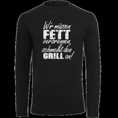 Motiv: Light Crew Sweatshirt - SizzleBrothers - Grillen - Fett verbrennen