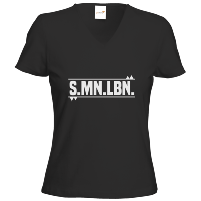 Motiv: T-Shirts Damen V-Neck FAIR WEAR - SMNLBN