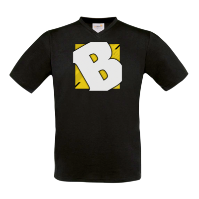 Motiv: T-Shirt V-Neck FAIR WEAR - Badeschlappen - Logo