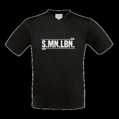Motiv: T-Shirt V-Neck FAIR WEAR - SMNLBN