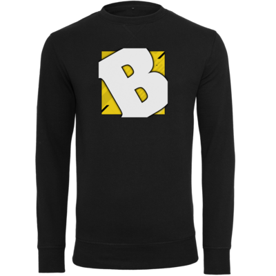 Motiv: Light Crew Sweatshirt - Badeschlappen - Logo