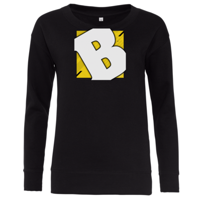 Motiv: Girlie Crew Sweatshirt - Badeschlappen - Logo