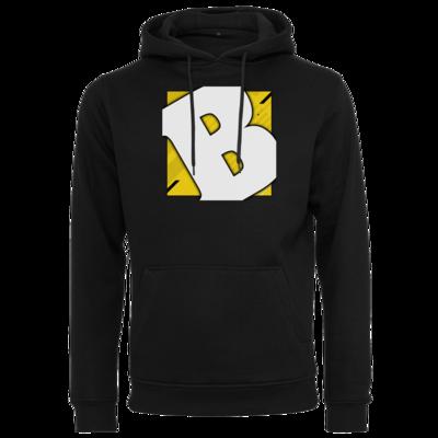 Motiv: Heavy Hoodie - Badeschlappen - Logo