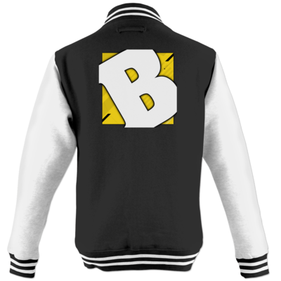 Motiv: College Jacke - Badeschlappen - Logo