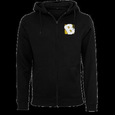 Motiv: Heavy Zip-Hoodie - Badeschlappen - Logo