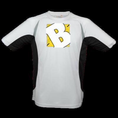 Motiv: Laufshirt Running T - Badeschlappen - Logo