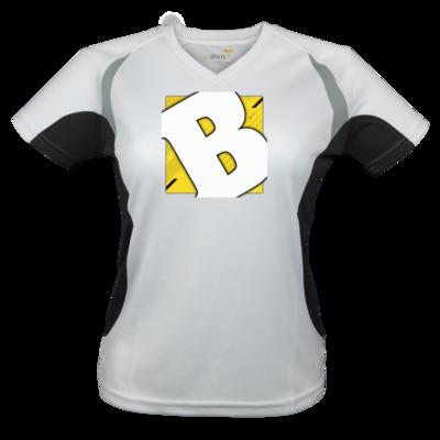 Motiv: Laufshirt Lady Running T - Badeschlappen - Logo