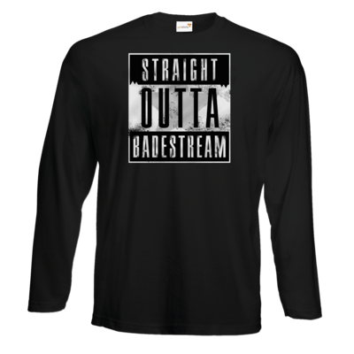 Motiv: Exact 190 Longsleeve FAIR WEAR - Straight Outta Badestream