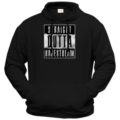 Motiv: Hoodie Premium FAIR WEAR - Straight Outta Badestream