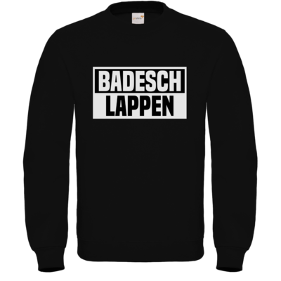 Motiv: Sweatshirt FAIR WEAR - BADESCHLAPPEN