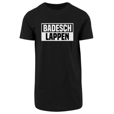 Motiv: Shaped Long Tee - BADESCHLAPPEN