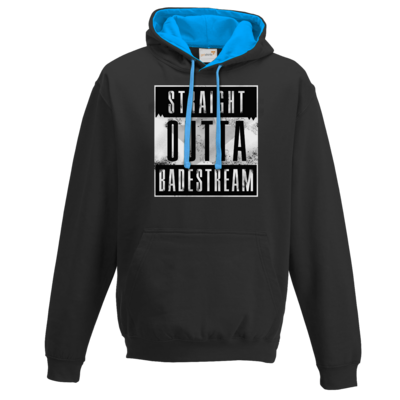 Motiv: Two-Tone Hoodie - Straight Outta Badestream