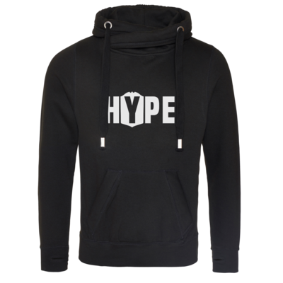 Motiv: Cross Neck Hoodie - Hype
