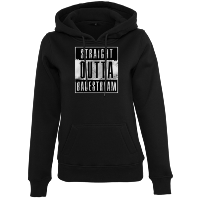 Motiv: Womens Heavy Hoody - Straight Outta Badestream