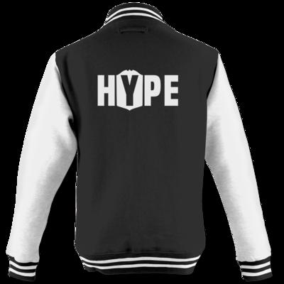 Motiv: College Jacke - Hype