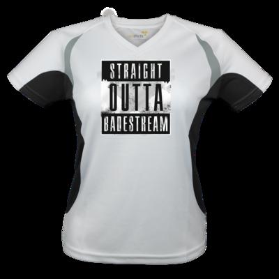 Motiv: Laufshirt Lady Running T - Straight Outta Badestream