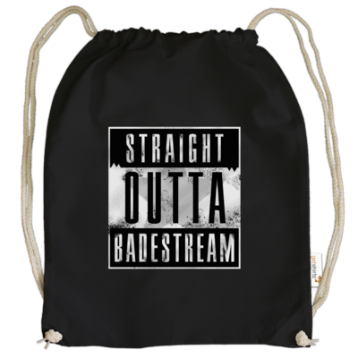 Motiv: Cotton Gymsac - Straight Outta Badestream
