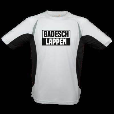 Motiv: Laufshirt Running T - BADESCHLAPPEN