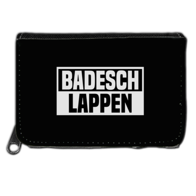 Motiv: Geldboerse - BADESCHLAPPEN