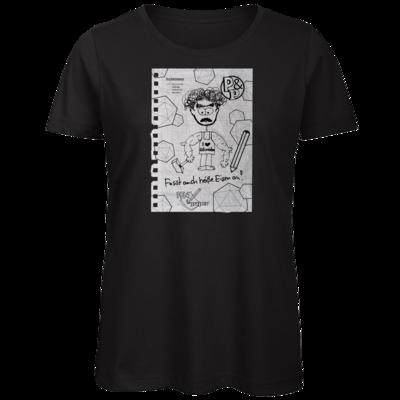 Motiv: Organic Lady T-Shirt - Pen & Paper - TEARS - Schmorf