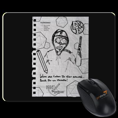 Motiv: Mousepad Textil - Pen & Paper - TEARS - Stanley