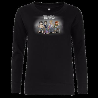 Motiv: Girlie Crew Sweatshirt - Pen & Paper - TEARS