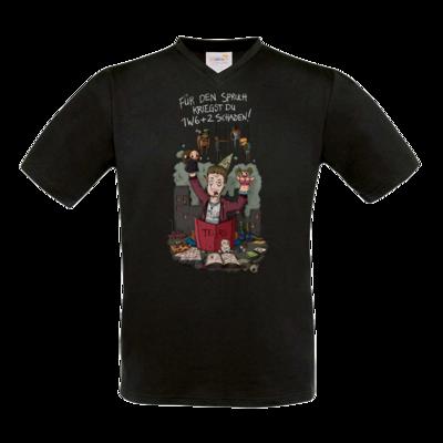Motiv: T-Shirt V-Neck FAIR WEAR - Pen &  Paper - TEARS - Spielleiter