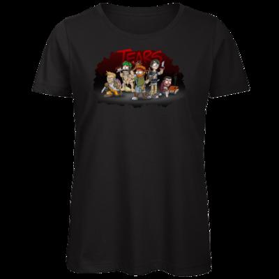Motiv: Organic Lady T-Shirt - Tears - Pen and Paper 2