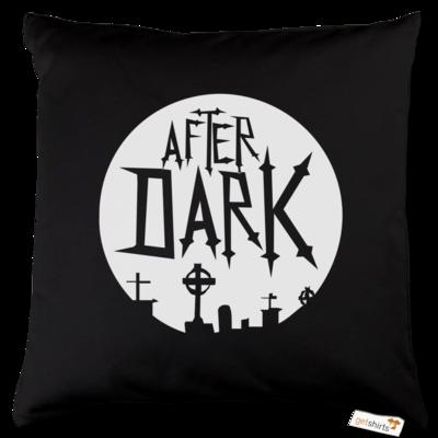 Motiv: Kissen Baumwolle - After Dark Logo