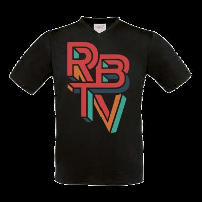 Motiv: T-Shirt V-Neck FAIR WEAR - Escher Logo
