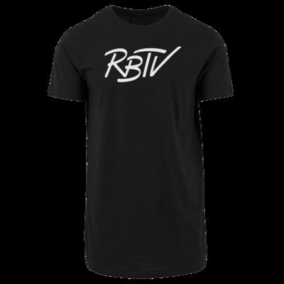 Motiv: Shaped Long Tee - RBTV - Oldschool Logo